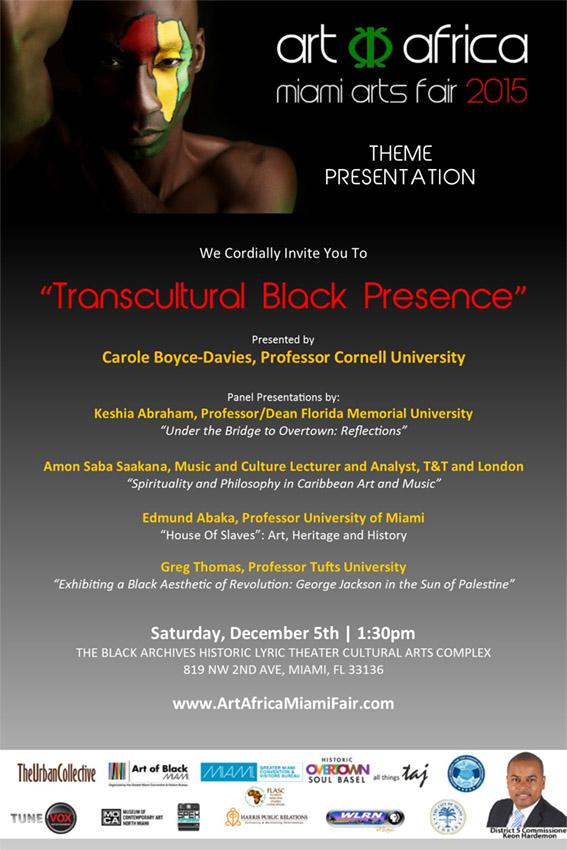 Transcultural Black Presence